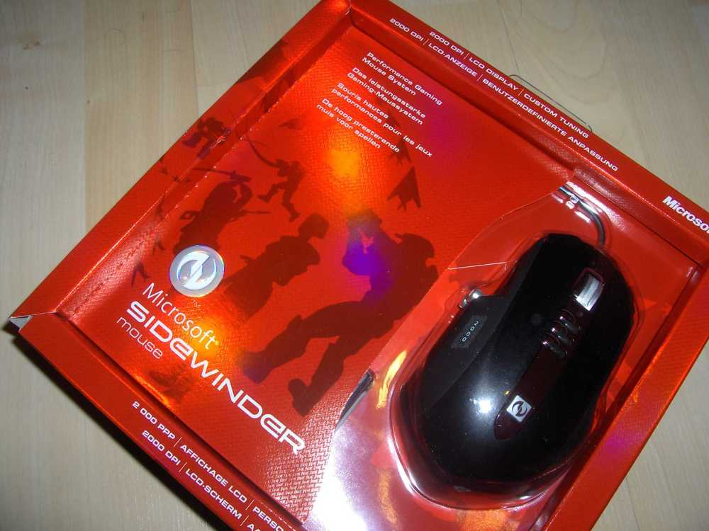 Microsoft SideWinder Mouse