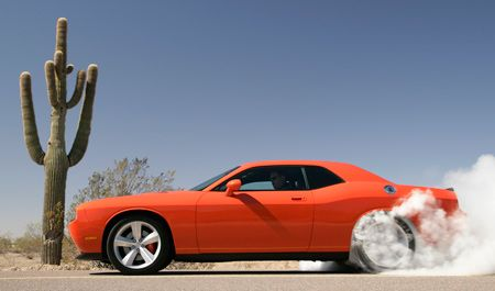 Dodge Challenger Burnout