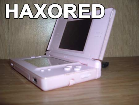 Nintendo DS Haxored