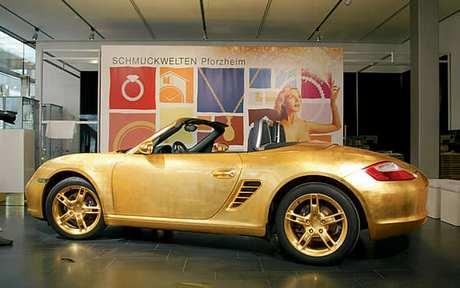 Vergoldeter Porsche Boxster 2