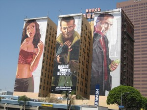 gta 4 advertising