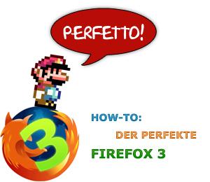 Der perfekte Firefox 3
