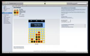 iPhone Vier gewinnt App store